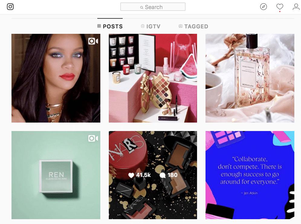 80c5dee012f 10 Beauty Brand Instagram Accounts We Heart So Hard