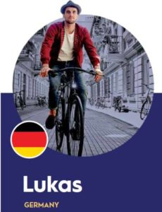 German shopper Lukas