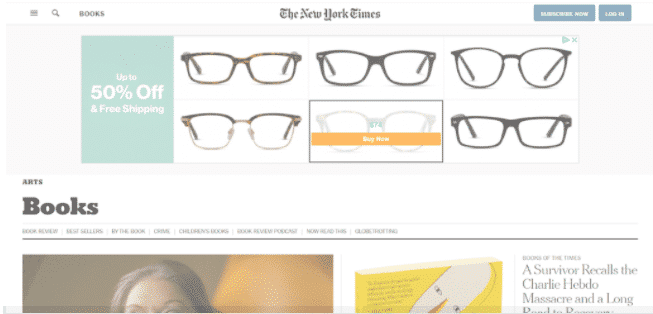 example of a contextual targeting ad