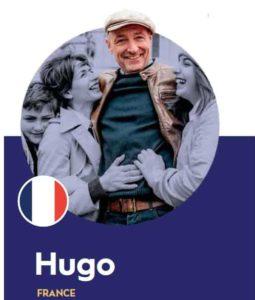 French shopper Hugo