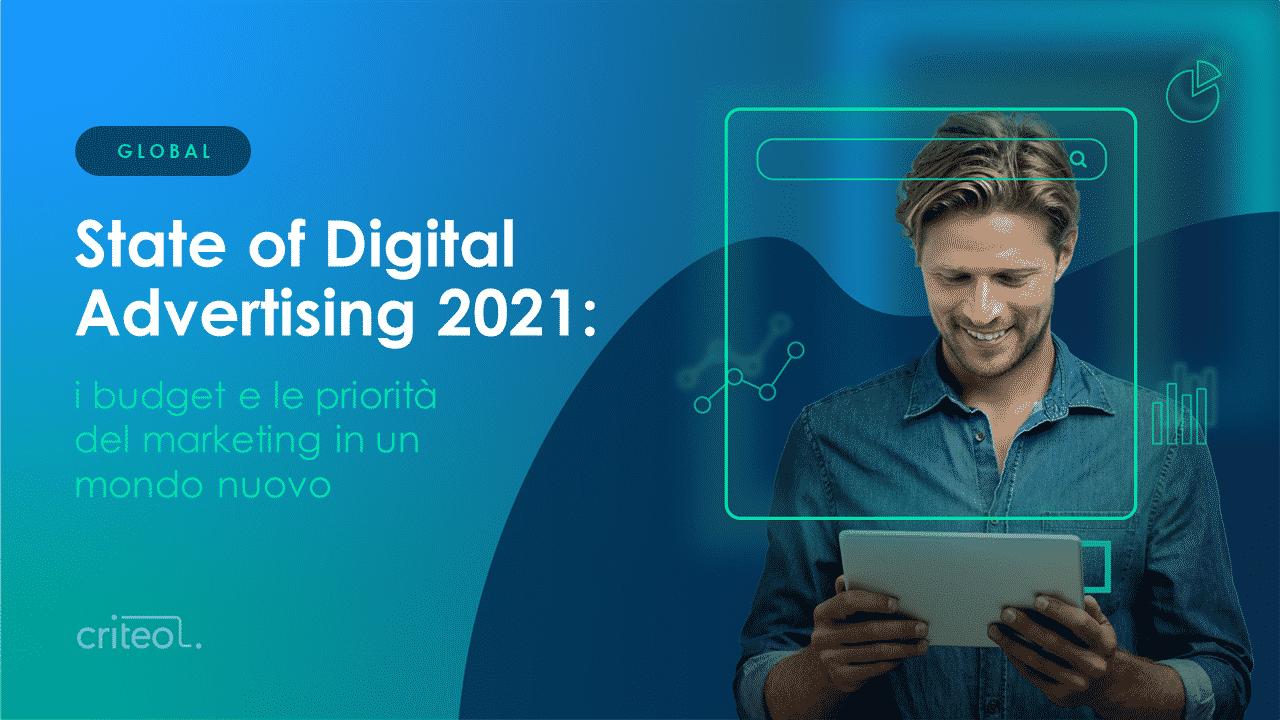 digital marketing spend 2021 report cover