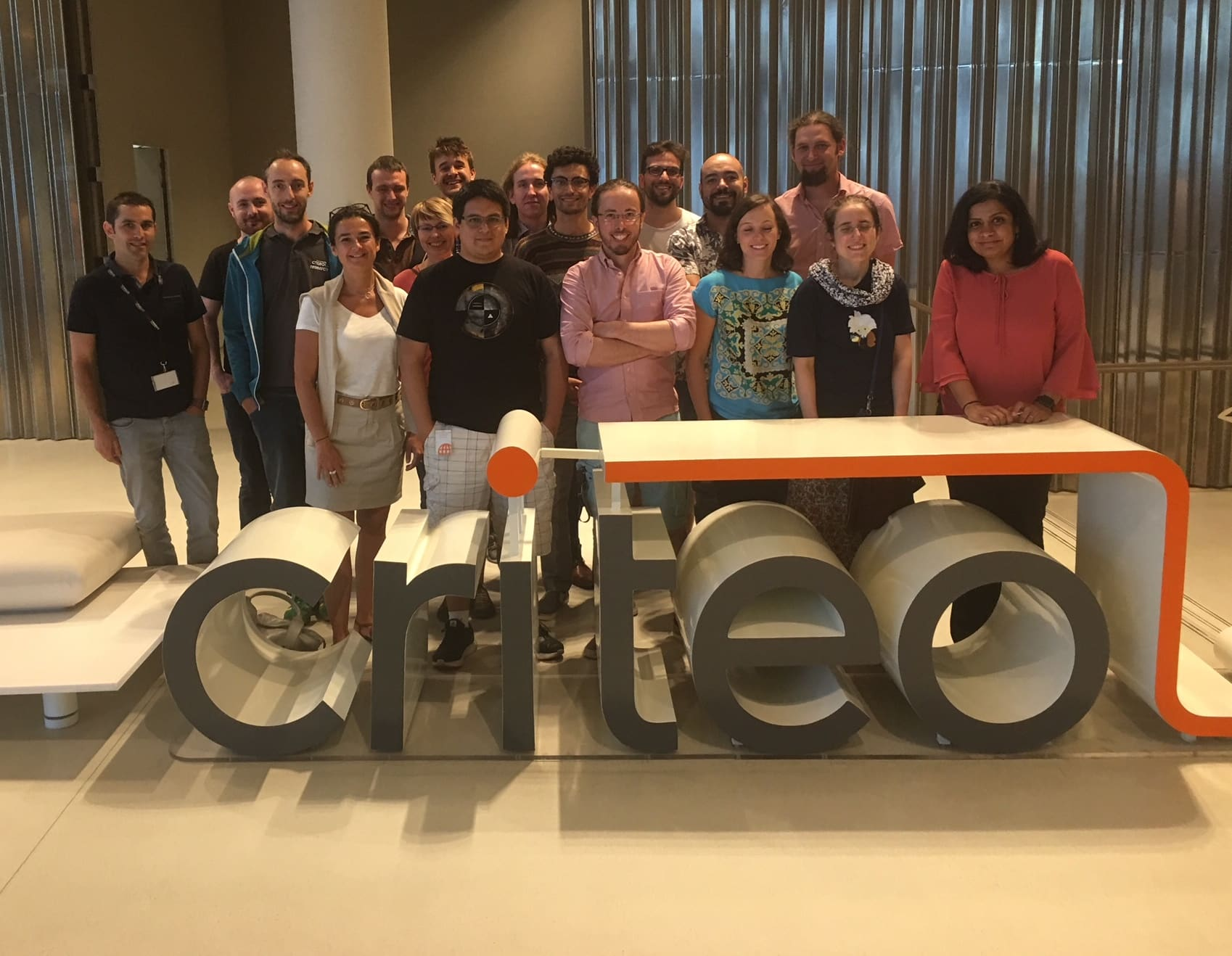 Suju Rajan with her criteo research team