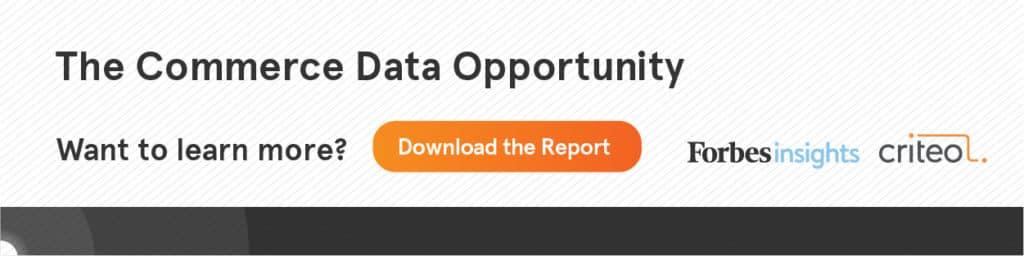 Commerce Data Opportunity