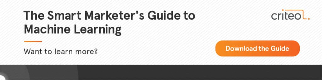 Smart Marketer's Guide to Machine Learning