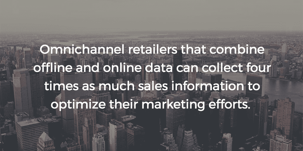 Combining online and offline data means more information about shopper journey