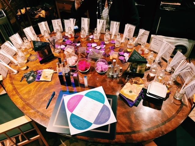 18 fragrances to create your custom blend