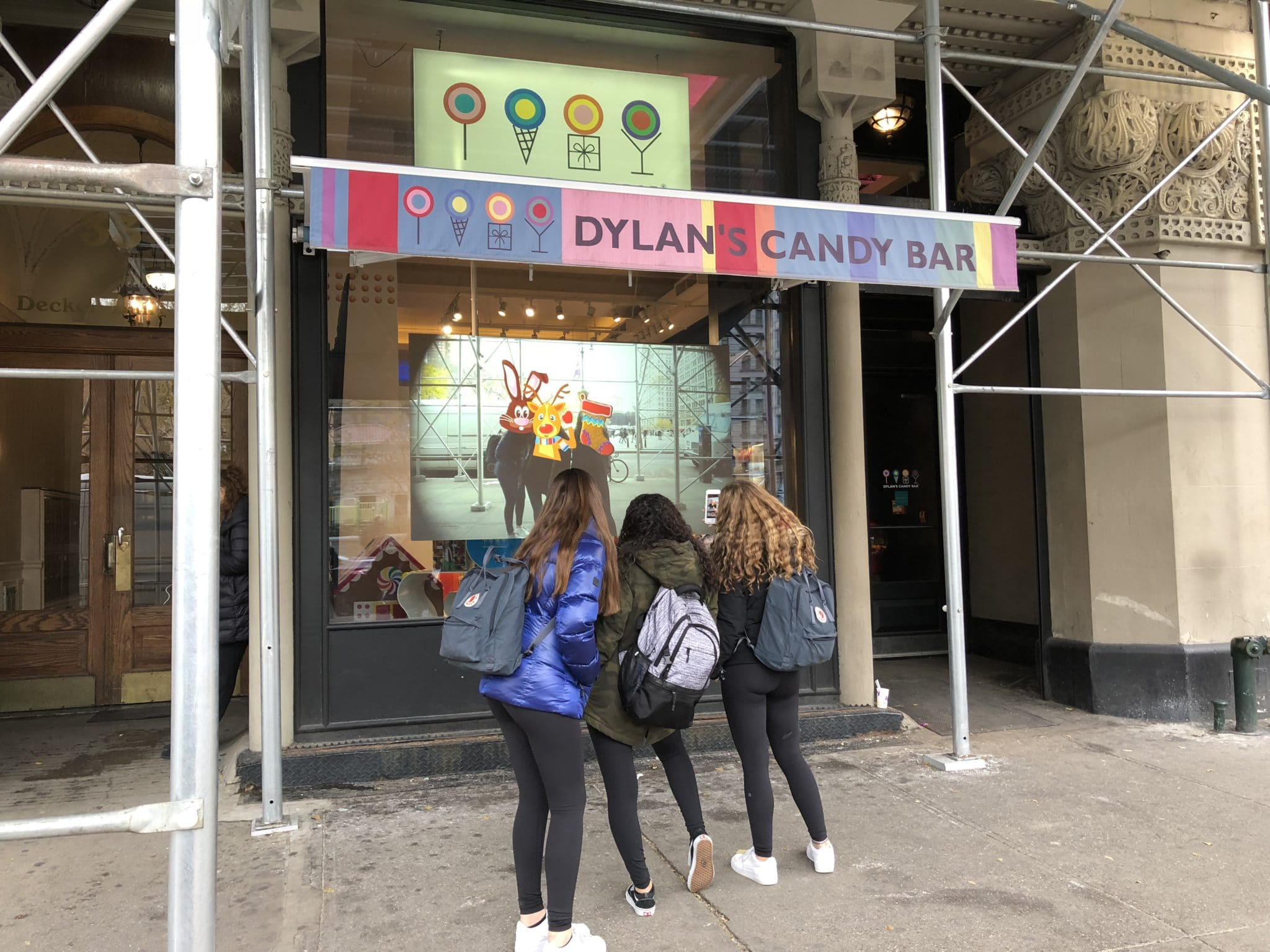 Outernets at Dylan's Candy Bar