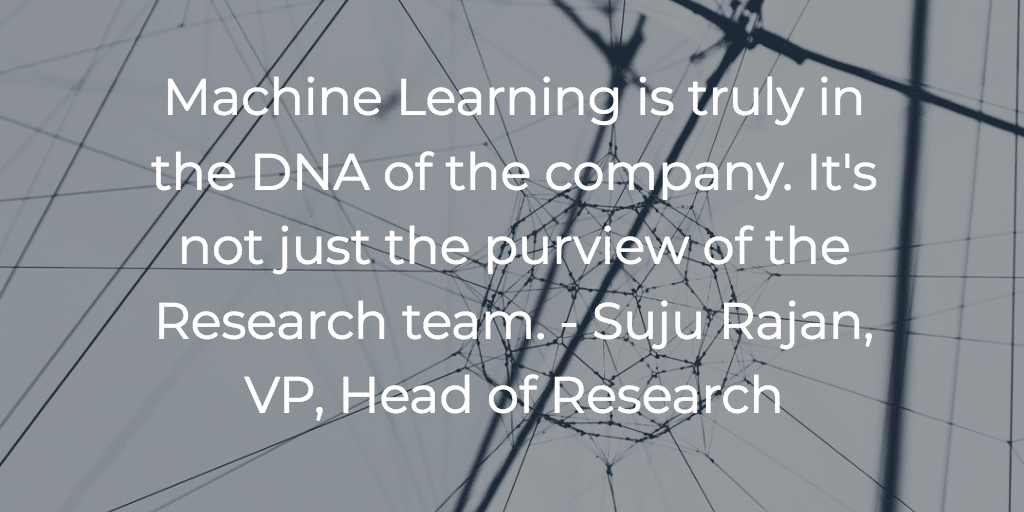 Criteo is a machine learning company