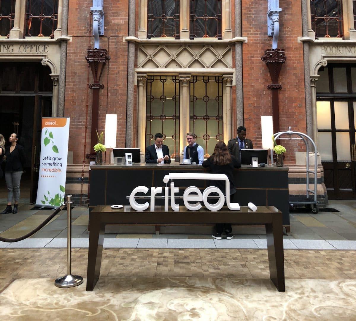 Criteo Commerce Marketing Forum London