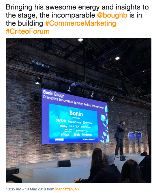 Criteo Commerce Marketing Forum